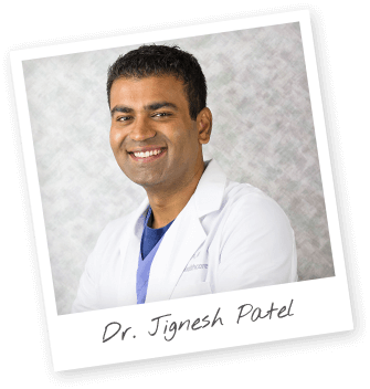 Instant print photo of Dr. Jignesh Patel